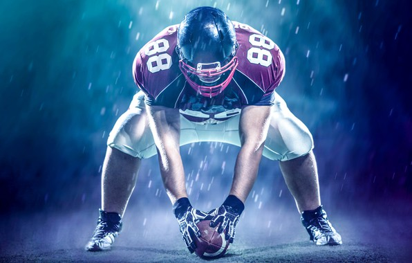 Picture photo, The ball, Sport, Helmet, Male, Uniform, American football