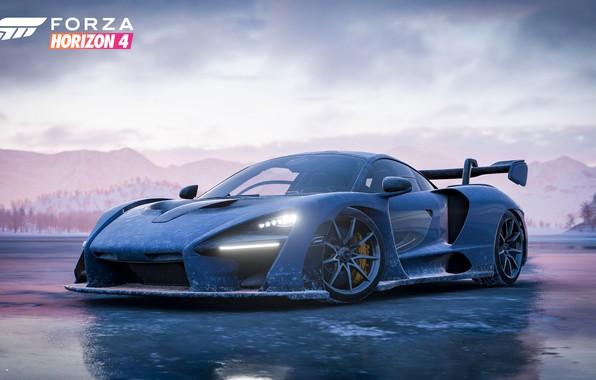 Picture McLaren, Microsoft, game, 2018, Senna, Forza Horizon 4