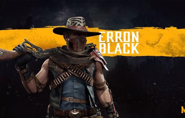 Picture cowboy, the gun, fighter, mercenary, mortal Kombat, cowboy, MK11, mercenary, bounty hunter, the bounty hunter, …