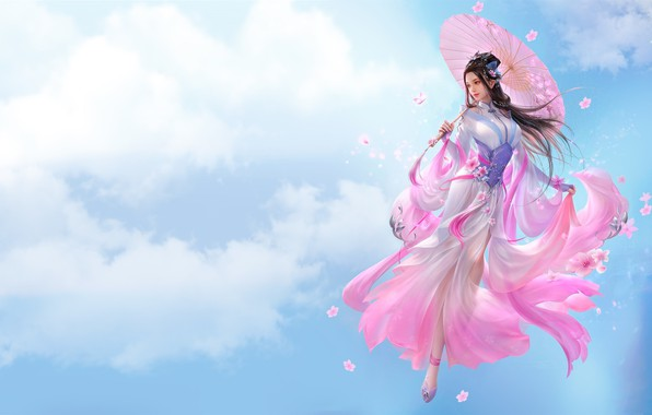 Picture girl, fantasy, beauty