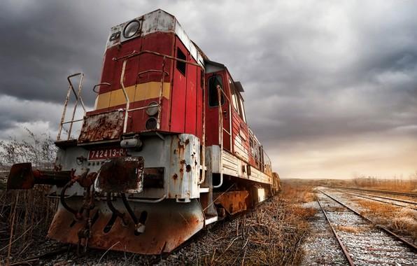 Picture train, technique, railroad