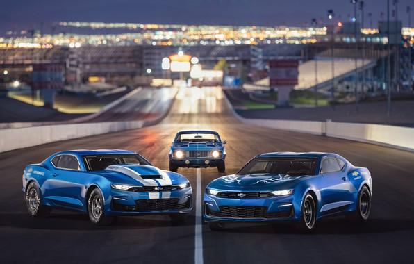 Picture Chevrolet, Camaro, 2018, 50th Anniversary, COPO, SEMA 2018, eCOPO Concept