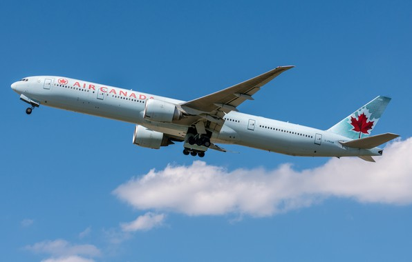 Picture Boeing, Air Canada, 777-300ER