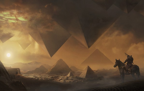 Picture multi-platform video game, Eddie Bennun, The Curse of the Pharaohs, Assassin's Cred Origins, The Curse …