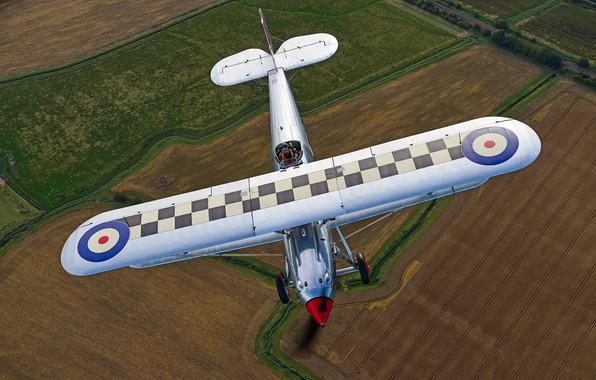 Picture Fighter, Biplane, 1931, RAF, Hawker Fury