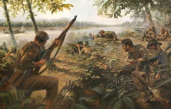 Picture ambush, Special ops, Hunting in the Jungle, Guerrilla war