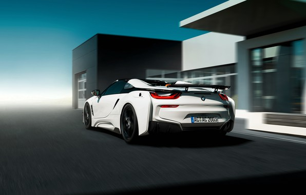 Wallpaper Roadster Rear View 2018 Ac Schnitzer Bmw I8 Images For