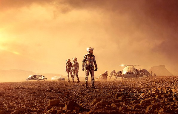 Picture Series, Mars, National Geographic Channel