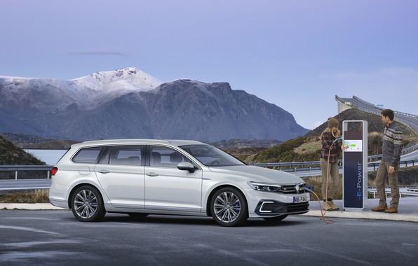 Picture Volkswagen, Volkswagen, Passat, hybrid universal, Volkswagen Passat GTE Variant