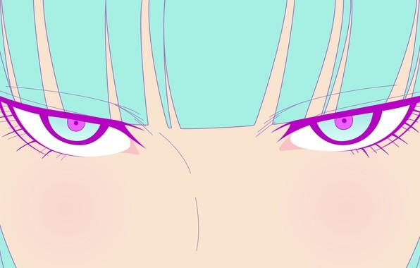 Picture eyes, look, vector, anime, art, GIRL, TeddyLoid, ME ME ME, Daoko, BOR ost