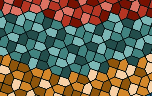 Picture background, texture, geometry, background, mosaic, Retro