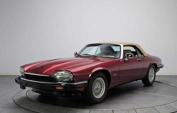 Picture Jaguar, Car, Convertible, XJS