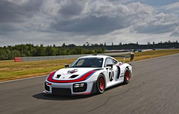 Picture Porsche, Speed, Track, 2019, Porsche 935, Porsche 935 (991)