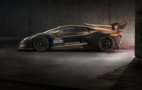 Picture machine, Lamborghini, sports car, drives, Huracan, Super Trofeo Evo Collector