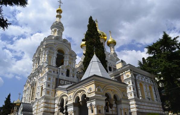 Picture Church, temple, Yalta