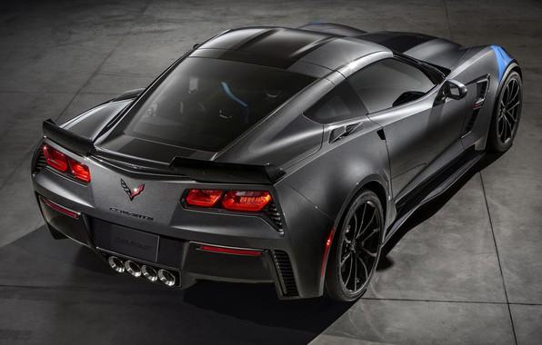 Picture coupe, Chevrolet Corvette, Grand Sport, double rear-drive sports car, 2016, C7 Stingray