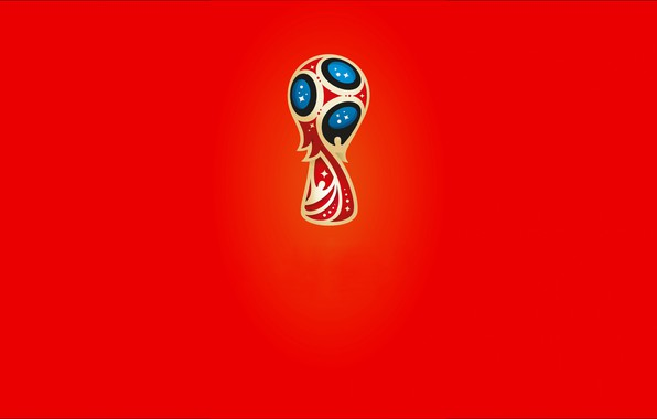 Picture football, minimalism, Russia, 2018, World Cup
