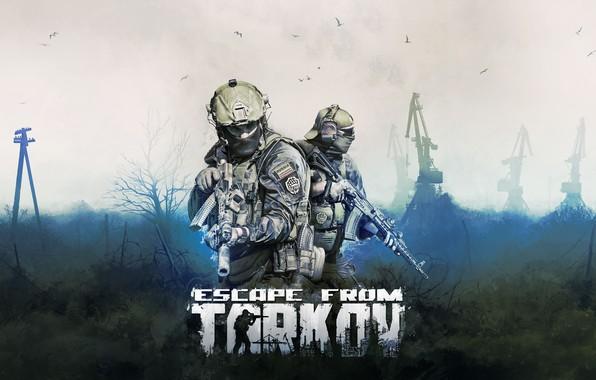 Picture art, Soldiers, Weapons, Kalashnikov, Machine, Mercenaries, BEAR, Escape from Tarkov, Tarkov, EFT, R.2028, Russia 2028, …