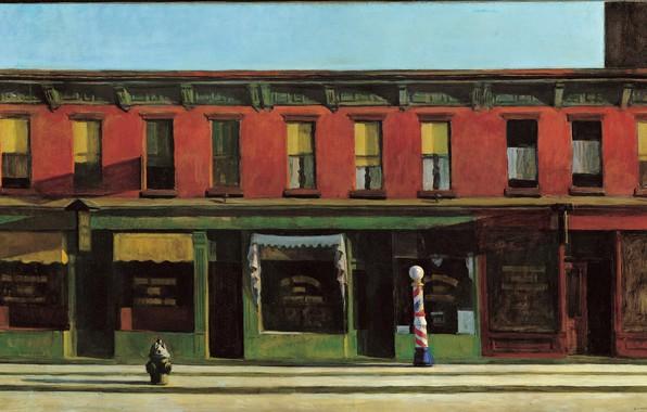 Picture 1930, Edward Hopper, Early Sunday Morning