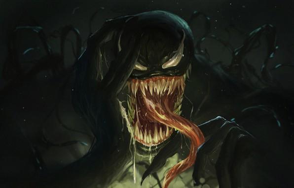 Picture Language, Teeth, Marvel, Venom, Venom, Symbiote, Creatures, by Neo Lee, Neo Lee