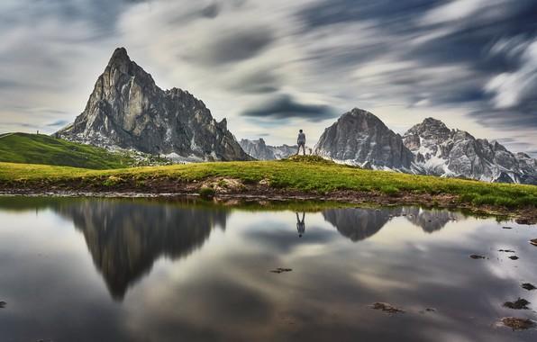 Picture landscape, Dolomites, Italie