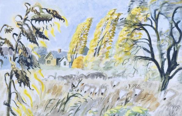 Picture 1950, Charles Ephraim Burchfield, October Sunlight