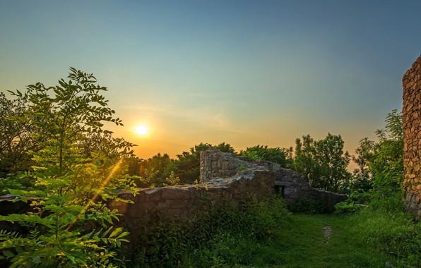 Picture landscape, nature, sunrise, beauty, morning