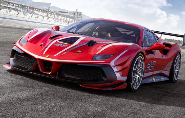 Picture Ferrari, sports car, 488, Challenge Evo