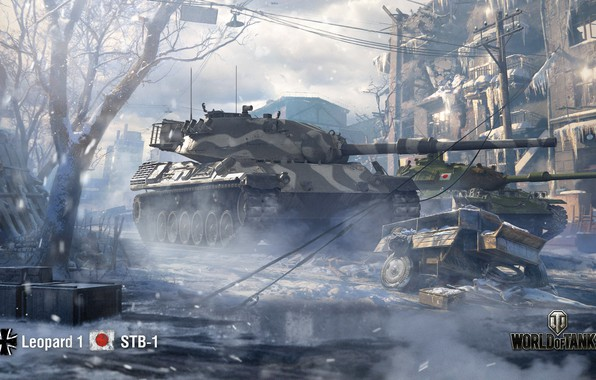 Picture WoT, World of Tanks, Leopard 1, Wargaming, STB-1
