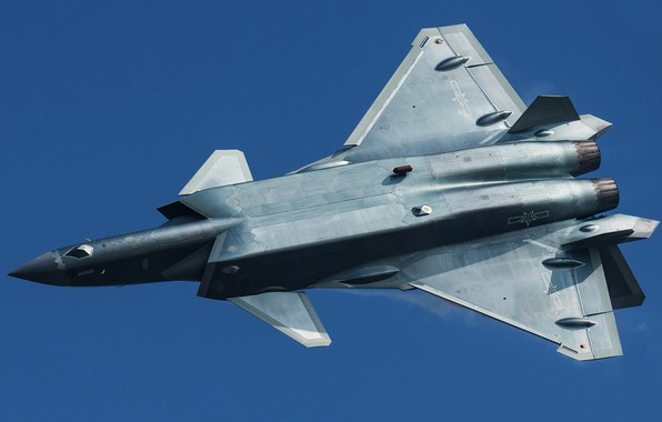 Picture Fighter, J-20, Chengdu J-20, AIR FORCE CHINA