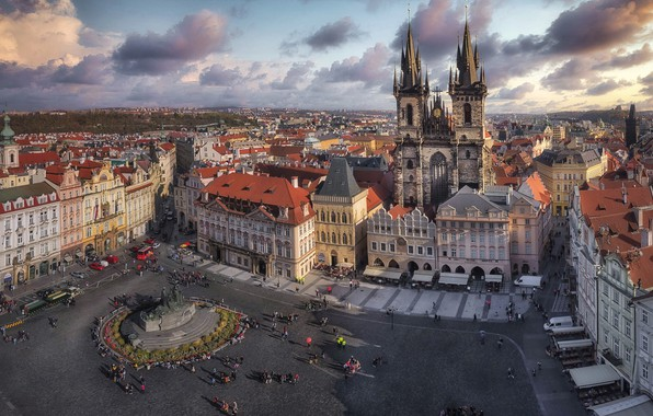 Picture the city, Praga, Old Town square