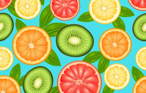 Picture background, orange, kiwi, Orange, Wallpaper, citrus