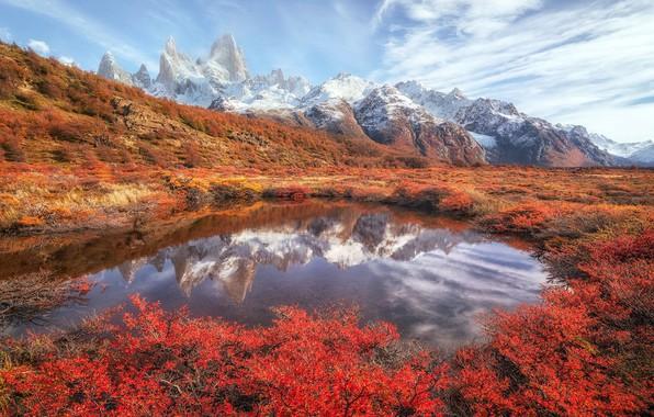 Picture landscape, nature, Patagonia