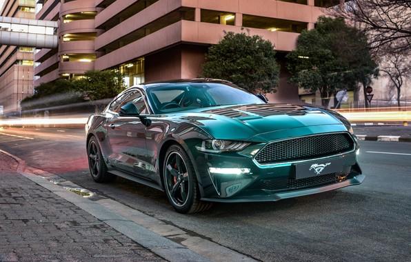 Picture Mustang, Ford, Bullitt, 2019