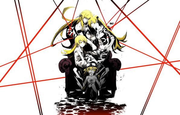 Picture Anime, Girls, Monogatari
