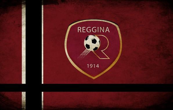 Picture logo, Grunge, soccer, footbal, Calabria, Reggina
