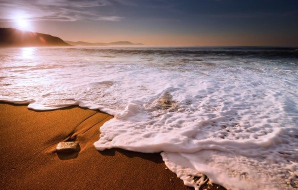 Picture wave, beach, shore, pribi