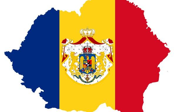 Picture flag, coat of arms, custom, Romania, flag, romania, border, coat of arms, border