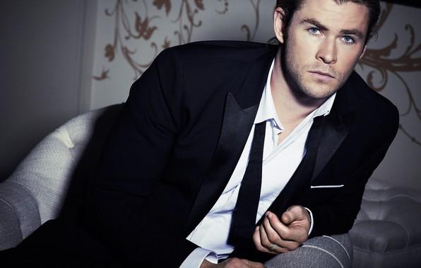 Picture look, male, beautiful, Chris Hemsworth, Simon Emmett