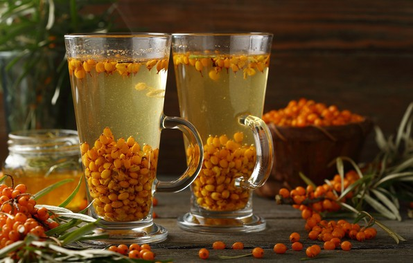 Picture drink, sea buckthorn, infusion, Kismayo