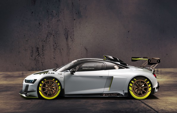 Picture Audi, sports car, Audi R8, GT2, LMS