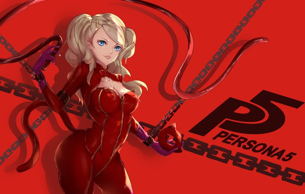 Wallpaper Cat Girl Mask Person 5 Persona 5 Images For