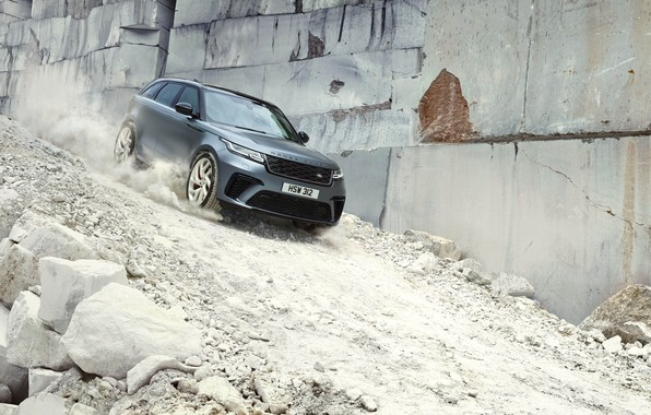Picture stones, the descent, Machine, Land Rover, Range Rover, crossover, SVAutobiography, Velar, Dynamic Edition