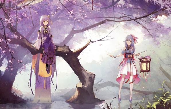 Picture Park, girls, Vocaloid