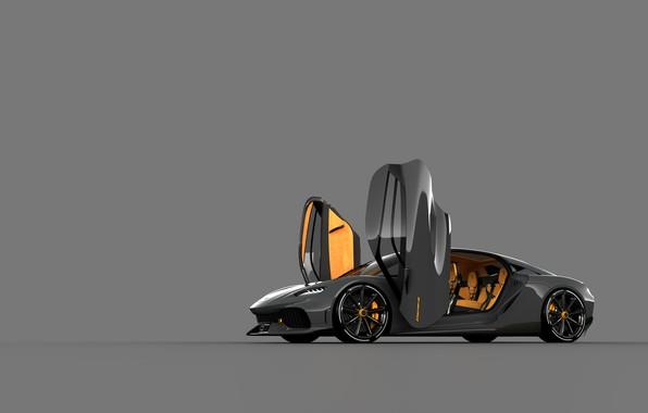 Picture Koenigsegg, Door, Gemer