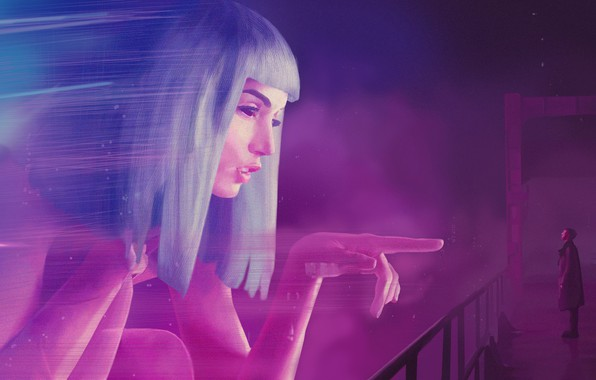 Picture The city, Neon, Art, The film, Fiction, Hologram, Blade Runner, Blade runner, Key, Blade Runner …