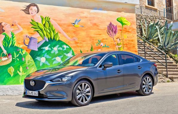 Picture Mazda, Mazda 6, Mazda 6 2018