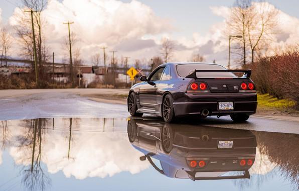 Picture Nissan, R33, Skylilne, GTR R33