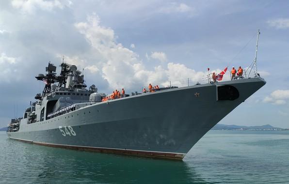 Picture ship, large, anti-submarine, Admiral Panteleyev