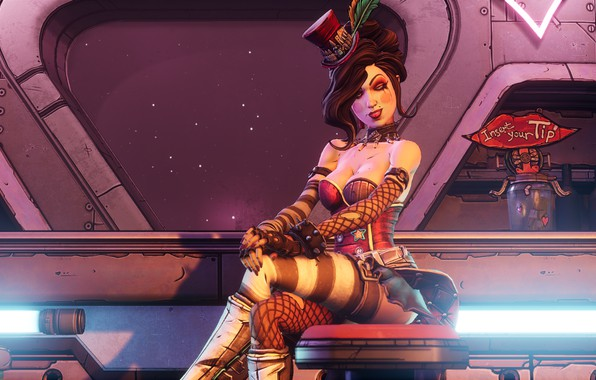 Picture Guns, The sun, Moxxi, Borderlands 3, Mayhem is Coming, BL3